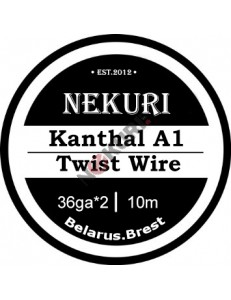 Kanthal A1 30ga*2 Twist 0.12mm+0.5mm+0.1mm